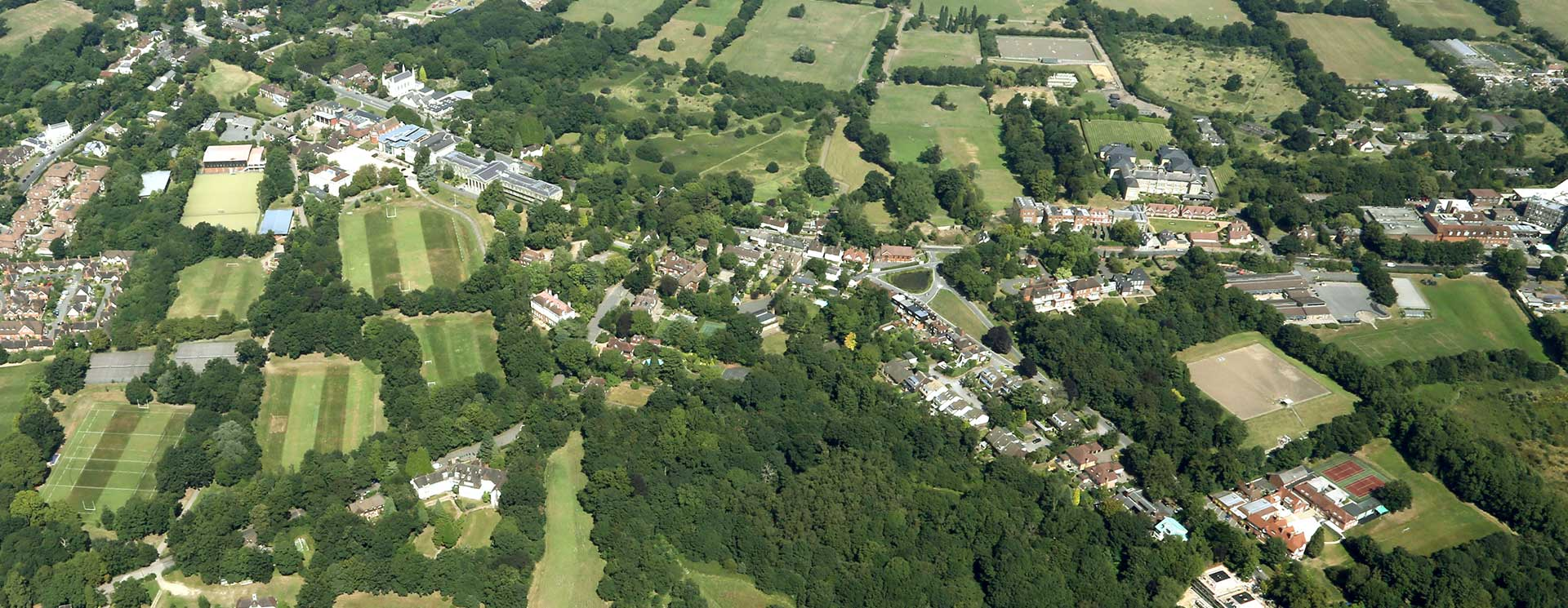 MIll Hill Schools from above