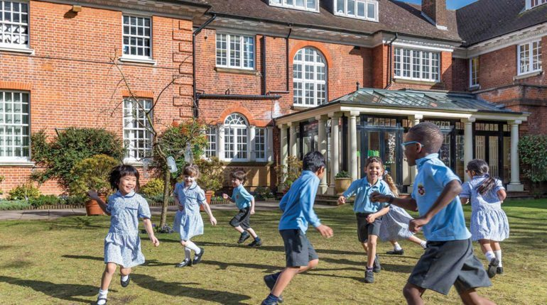 Grimsdell - Children playing