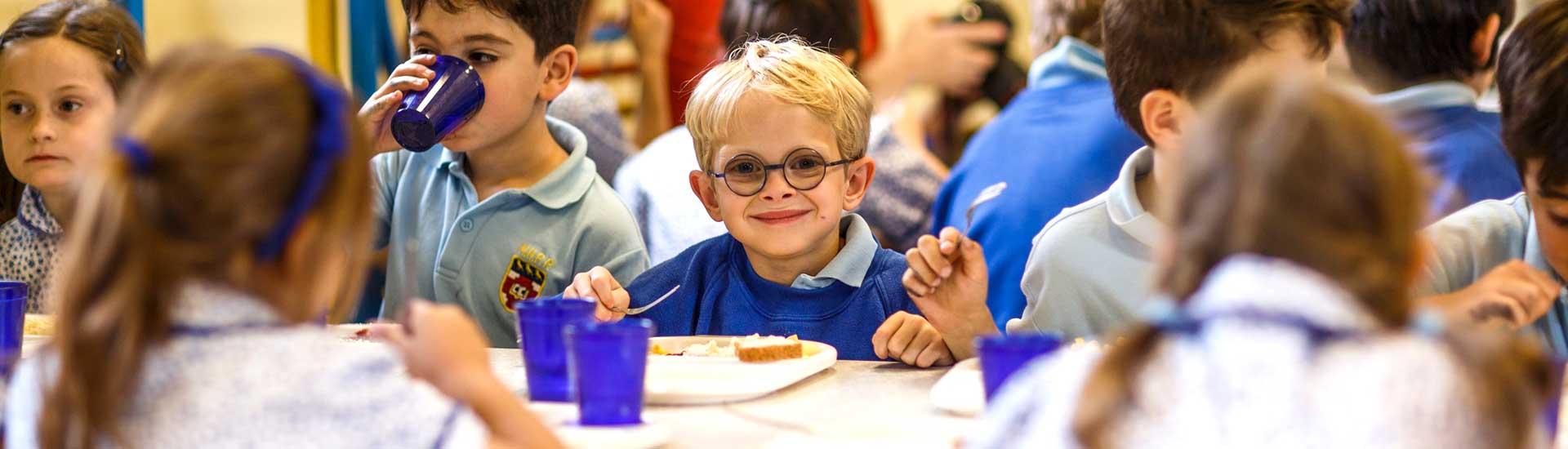 Grimsdell - School meals